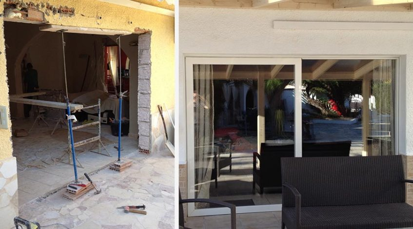 Building Services costa blanca before and after photo